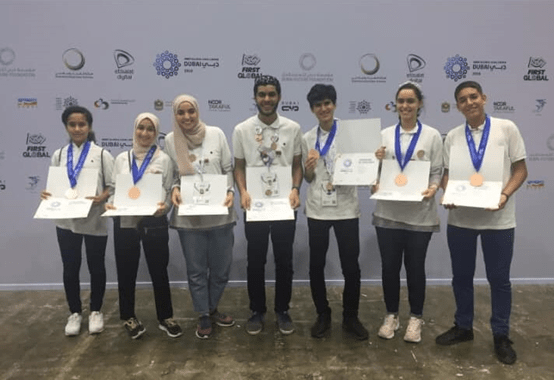 Awards in Olympics 2019 - Team Libya in Dubai